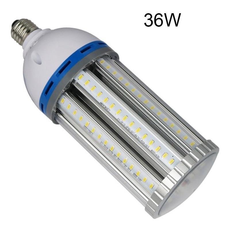 MINGYING Lighting LED Corn Light,LED Street Light, E27 E40 LED 36W Bulb,Super Bright SMD5730 85-265V e27 30w led corn light smd5730 132leds ac110v 220v e27 e14 b22 led corn light led bulb