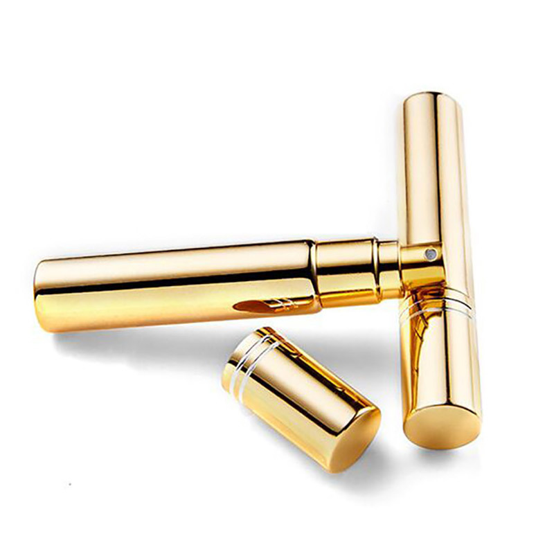 3 Size New Portable Mini Gold Plating Travel Perfume Atomizer Dispenser Spray Bottles Perfume Cosmetic Containers Beauty Gifts недорого