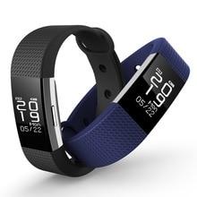 24 часа мониторинга сердечного ритма умный здоровый браслет Sleep Monitor вызова напомнить питьевой напомнить SmartBand поддержка приложение Tracker