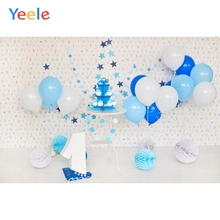 Yeele 1st Birthday Scene Balloons Baby Child Party  Personalized Photographic Backdrops Photography Backgrounds For Photo Studio