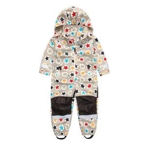 Image 2 - Veste de combinaison printemps et automne pour enfants, combinaison pour garçon et fille, résistant au vent et étanche, 4 styles