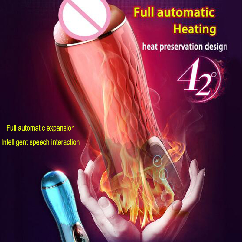 XUANAI Full Automatic Telescopic Sucking Male Masturbator Sex Toys for Men Artificial Vagina Smart Heating Adult Sex Machine real vagina male masturbator automatic telescopic masturbation cup intelligent heating sex machine rechargeable sex toys for men