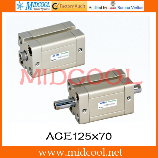 Original AirTAC Compact cylinder ACE Series ACE125x70 original airtac compact cylinder ace series ace100x30