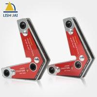 LISHUAI Dual Use Magnetic Holder Corner Welding Magnets Two Pcs Pack WM3 6090S
