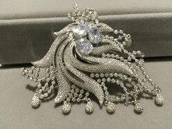 Schmucksachen & komponenten stecker phoenix silber mit cubic ziron DIY schmuck für halskette mode frauen schmuck anschlüsse