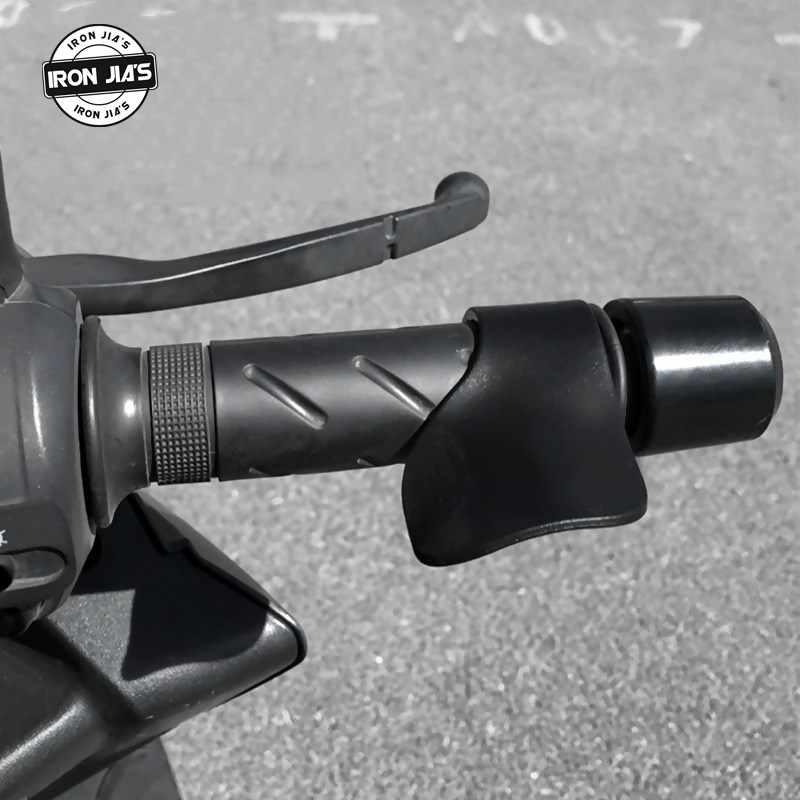 Poignées à bascule de contrôle d'accélérateur d'accélérateur de repose-main d'assistance de croisière de moto de haute qualité universelles pour guidon 7/8