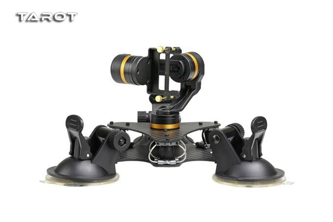 Tarot ZYX T DZ stabilny 3 osi metalowa kamera stabilizator gimbal samochodu zamontowany PTZ do GOPRO HERO 3/3 +/4 kamera sportowa w Części i akcesoria od Zabawki i hobby na  Grupa 3