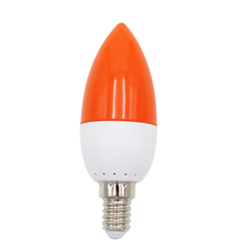 E14 LED color candle tip bulb color candle light LED Edison Bulb Flame Fire Lighting  red/blue/white/green Candle Light