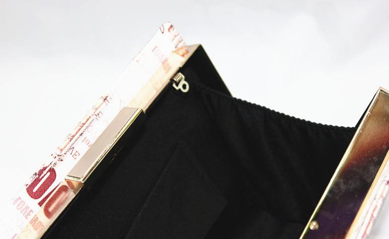 прошу полиуретан кожа книга форма сцепление мешок Flag губ пользователь Rene сумки на сумки женщины прошу болса estojos kippling