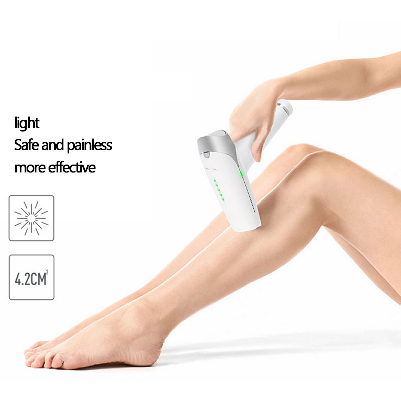 New Household Laser Hair Removal Machine Painless Laser Epilator Hair Removal Permanent Trimmer Electric Bikini