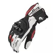 AFS6 AFS10 AFS18 moto rcycle перчатки мужские из натуральной кожи moto rbike перчатки moto racing перчатки moto cross перчатки