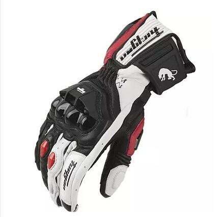AFS6 AFS10 AFS18 Motorcycle Gloves Men 's Genuine Leather motorbike Gloves moto Racing Gloves Motocross gloves