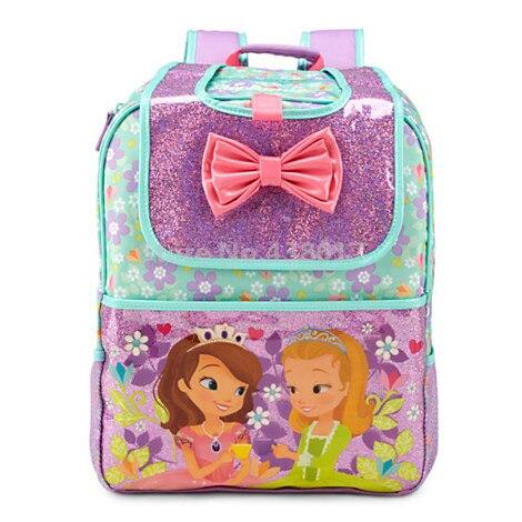 New Fashion Bow Sofia   Amber Princess Girls School Bags For Children Kids Kindergarten  Preschool School Backpack Bags-in School Bags from Luggage   Bags on ... 27135b647fb7c
