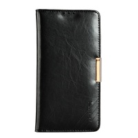 KLD Royal II Series Cell Phone Cover Case For Sony Z5 Dual Genuine Leather Wallet Case