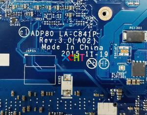 Image 5 - Für Dell Präzision 3510 K07X6 0K07X6 CN 0K07X6 ADP80 LA C841P i7 6700HQ 216 0866020 GPU Laptop Motherboard Mainboard Getestet