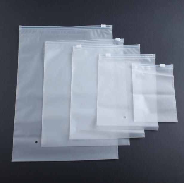 Qi 30pcs Lot Frosted Thick Plastic Reclosable Zipper Poly