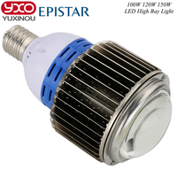 1pcs 100w 120w 150w Led Bulbs 220v E27 E40 Base Led Light Bulb Epistar LED Chip