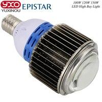 1pcs 100w 120w 150w Led Bulbs 220v e27 e40 base Dimmable Led Light Bulb Epistar LED Lamp Aluminium Plate 100w Led corn Lamp