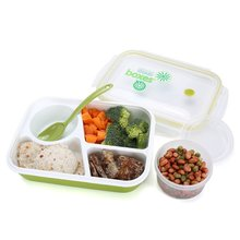 Bento Lunch Box 3 compartment with Spoon