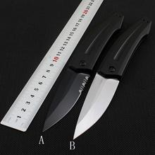 High quality K7200 folding knife D2 blade aluminum handle pocket outdoor camping hunting knife Tactical Survival EDC hand tools high quality paratrooper field survival knife tactical knife tactical hunting knife outdoor survival edc hand tools