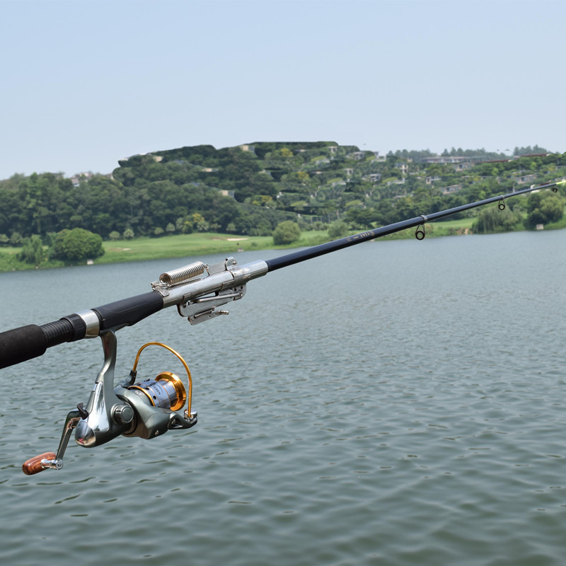 Automatic fishing rod without reel for Steel fishing rod