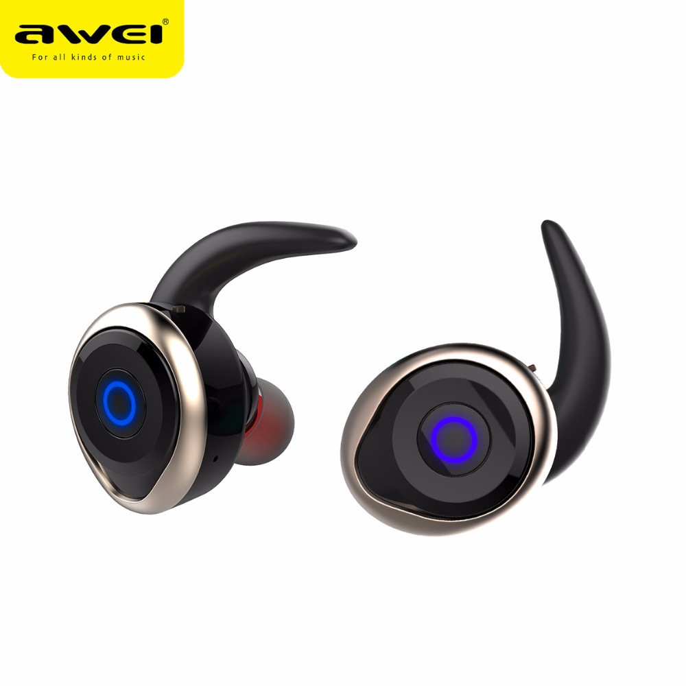 Newest Awei T1 Wireless Bluetooth Noise Cancelling Earphone Headsets Fone de ouvido Ecouteur Auriculares Bluetooth V4.2 wireless headphones bluetooth earphone sport fone de ouvido auriculares ecouteur audifonos kulaklik with nfc apt x