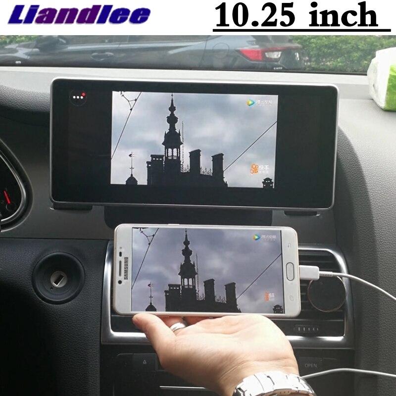 Liandlee Car Multimedia Player NAVI For Audi Q7 4L V12 TDI 2005~2013 Original Car System inch Radio Stereo GPS Screen Navigation 2