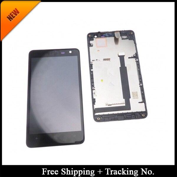 100% נבדק כיתה AAA LCD תצוגה עבור Nokia 625 עבור Nokia 625 LCD מסך מגע Digitizer עצרת עם מסגרת