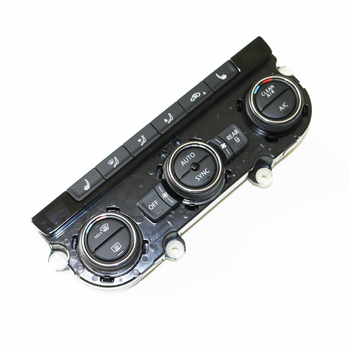 Asli Climatronic AC Control Switch Panel AC Kursi Pemanas Air Pengkondisian untuk V W Passat B7 CC 561 907 044
