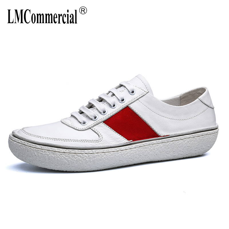 men's spring autumn summer shoes British retro Genuine leather shoes all-match cowhide leisure shoes men breathable sneaker male new autumn winter british retro men shoes red new shoes all match 2017 male korean men s leather high boots breathable fashion