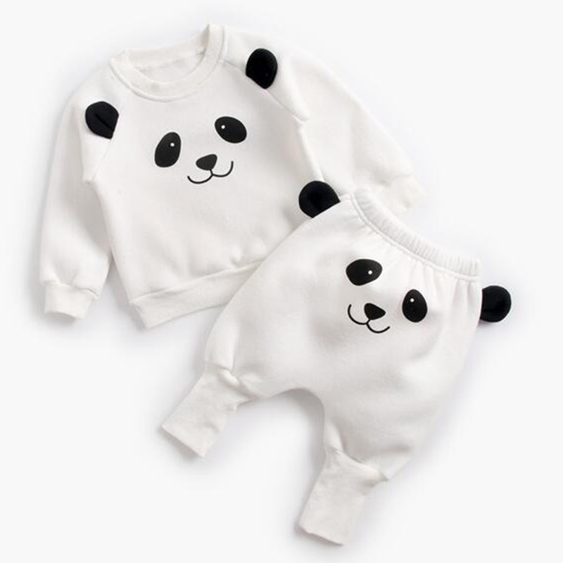Image 5 - Baby Suit Autumn Winter Baby Boy Cartoon Cute Clothing Pullover Sweatshirt Top + Pant Clothes Set Baby Toddler Girl Outfit Suit-in Clothing Sets from Mother & Kids