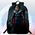 2016 New Style 16 inch Prints Hero Thor Avengers Kids Backpack Child School Bags Students Mochila Bag Boys School Backpacks