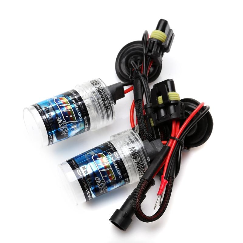 Un set 35w Lumină rapidă Xenon HID Bec KIT H1 H3 H4 H7 H11 9005 - Faruri auto - Fotografie 4