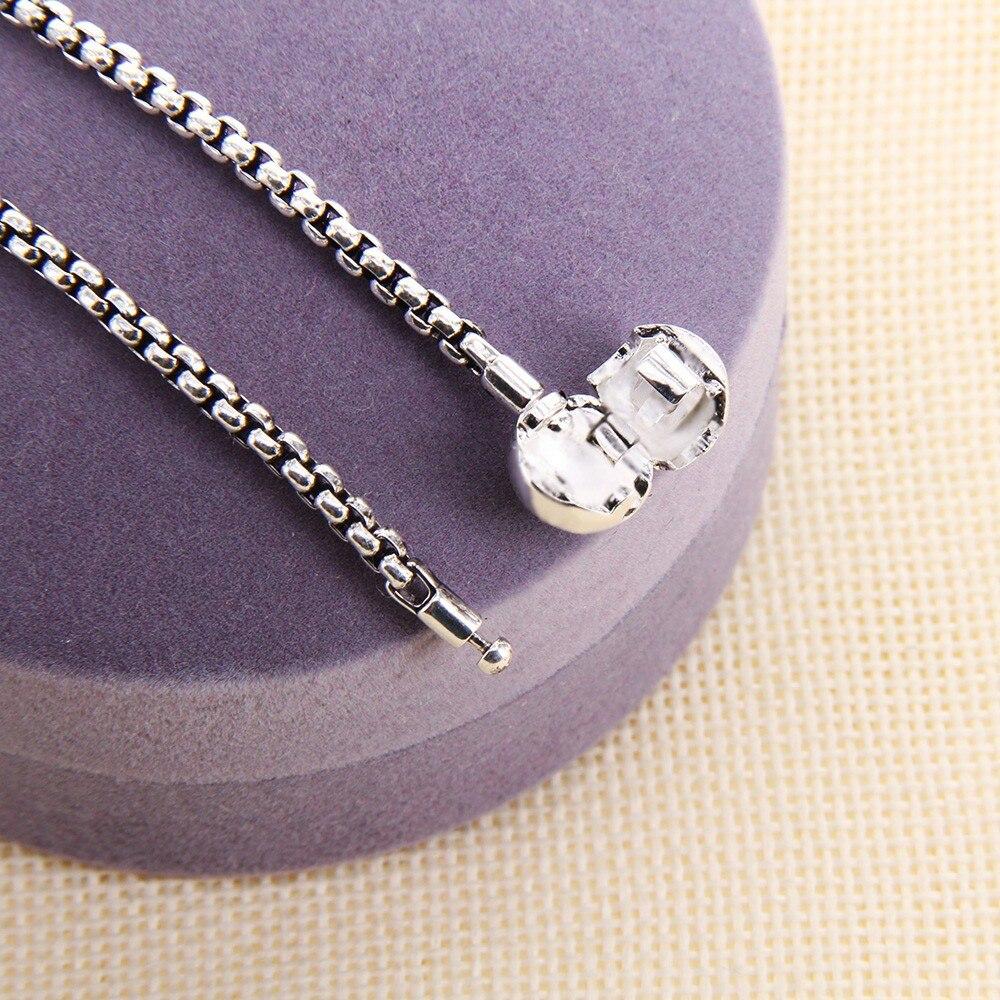 Blackend және Silver Karma Diy Necklace, Еуропа стилі - Сәндік зергерлік бұйымдар - фото 5
