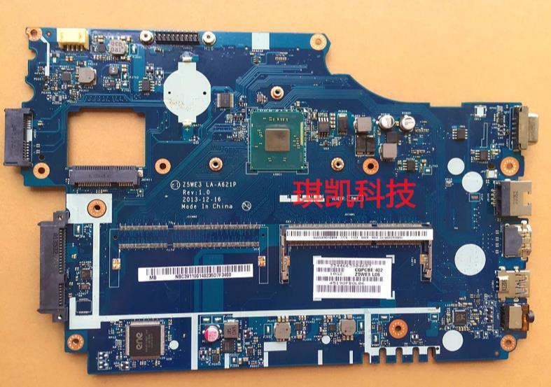 E1 510 Ordinateur Portable Carte Mere Z5we3 La A621p Nbc3a11001 Carte Mere Ddr3 Test Bon