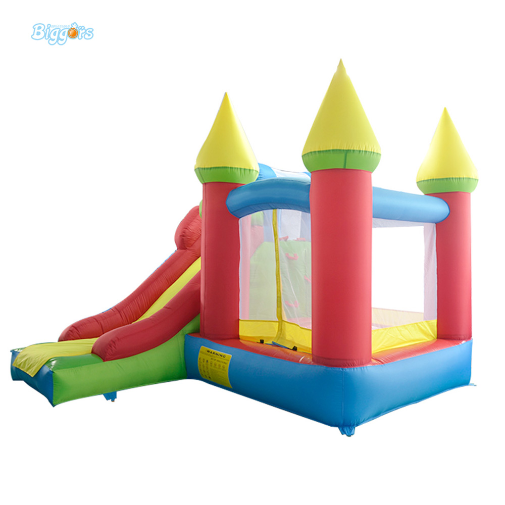 DHL FREE SHIPPING Residential cheap inflatable combo slide bouncy castle jumping bouncer for kids  yard dhl free shipping inflatable bouncer bouncy jumper colorful castle with long slide for kids
