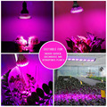 full Spectrum 15W 21W 27W 36W 45W 54W E27 LED Grow light AC 85 - 265V led lamps for plants orchids seedlings mini-cactus-plants