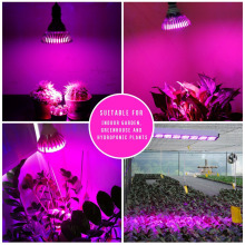 full Spectrum 15W 21W 27W 36W 45W 54W E27 LED Grow light AC 85 – 265V led lamps for plants orchids seedlings mini-cactus-plants