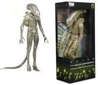 NECA Aliens 1/4 Scale Xenomorph Translucent Prototype Suit 18 Action Figure Toy Anime Figure Collectible Model Toy