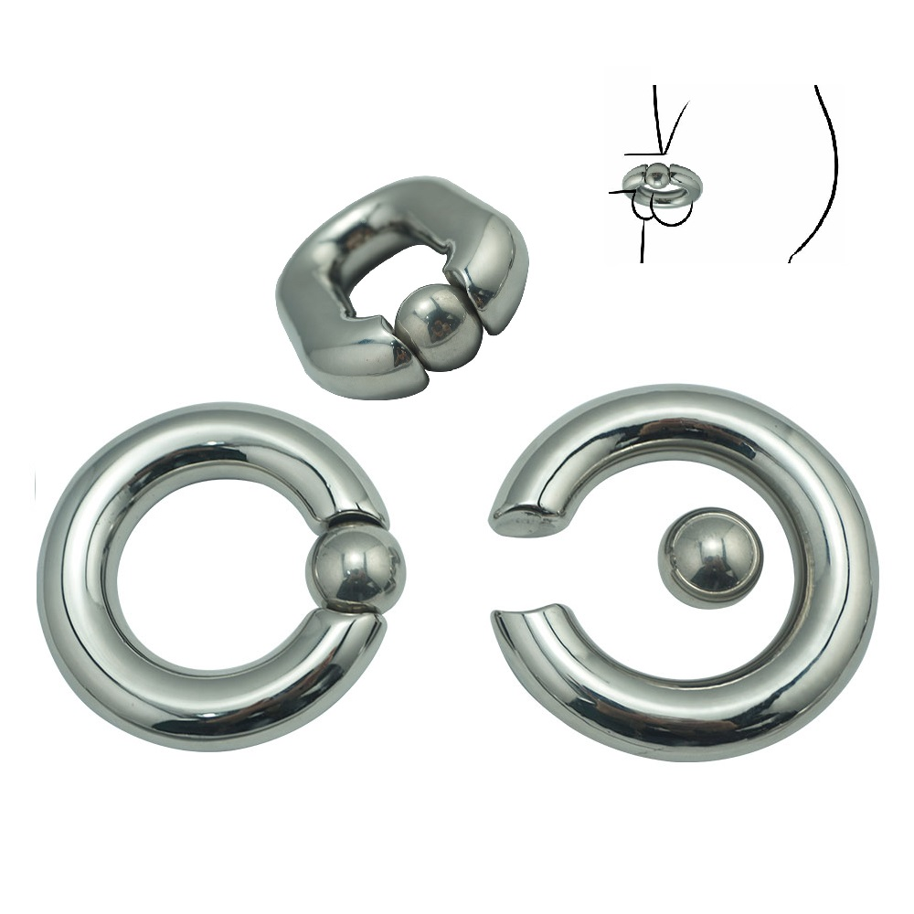 8 size choose new Heavy Duty Stainless steel Ball Scrotum Stretcher metal penis Cock Ring Delay ejaculation male new Sex Toy men 5 size for choose heavy duty magnetic stainless steel ball scrotum stretcher metal penis cock ring delay ejaculation sex toy men page 5