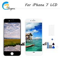 10PCS Lot Display Touch Screen Digitizer Assembly Replacement For IPhone 7 LCD Grade AAA Quality With