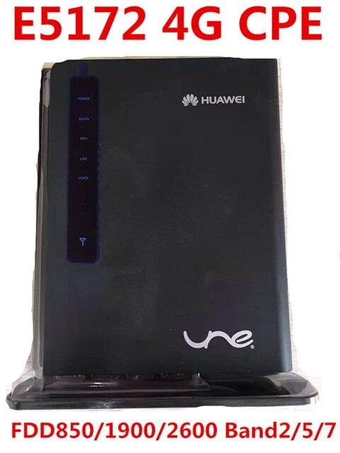 Разблокирована huawei E5172 E5172-515 4 г lte мифи Маршрутизатор LTE 4 г wi-fi dongle cpe b593 маршрутизатор 150 мбит pk b681 b683 b970 b890