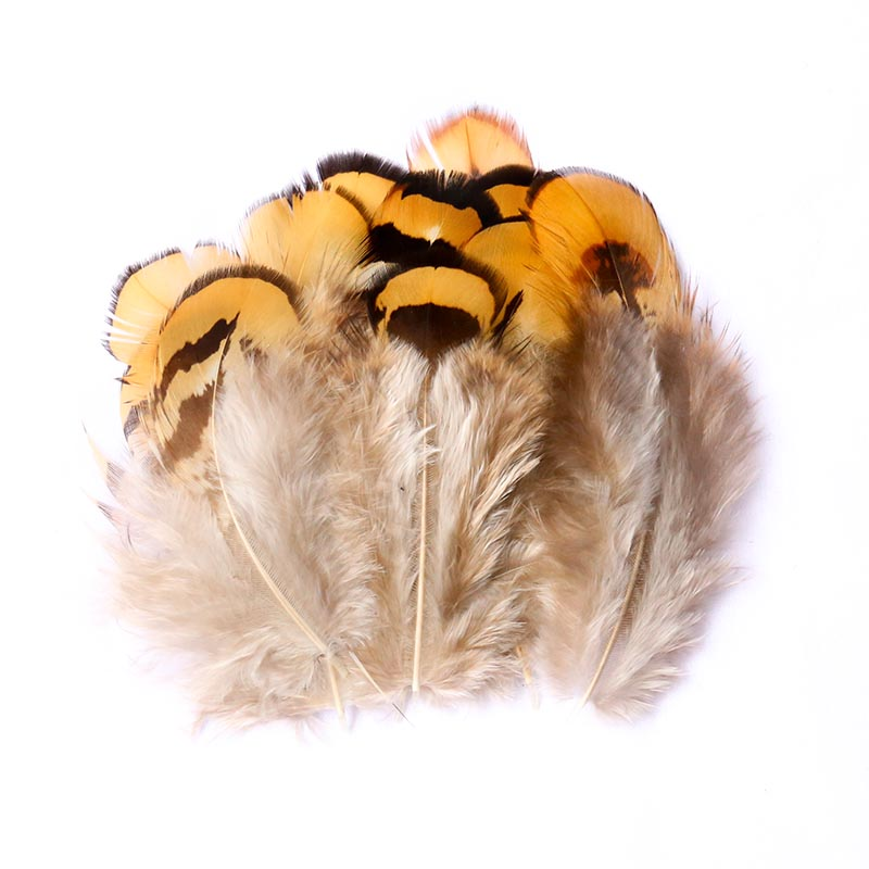 Natural Chicken Hair 30 Color 3-7cm Pheasant Dyed Crafts Cock Feather DIY Jewelry Fluffy Decoration Supplie