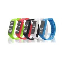 Symrun Фитнес трекер Смарт-часы точной 3D Шагомер Смарт Браслет Температура сна Мониторы браслет CD5 для смартфонов