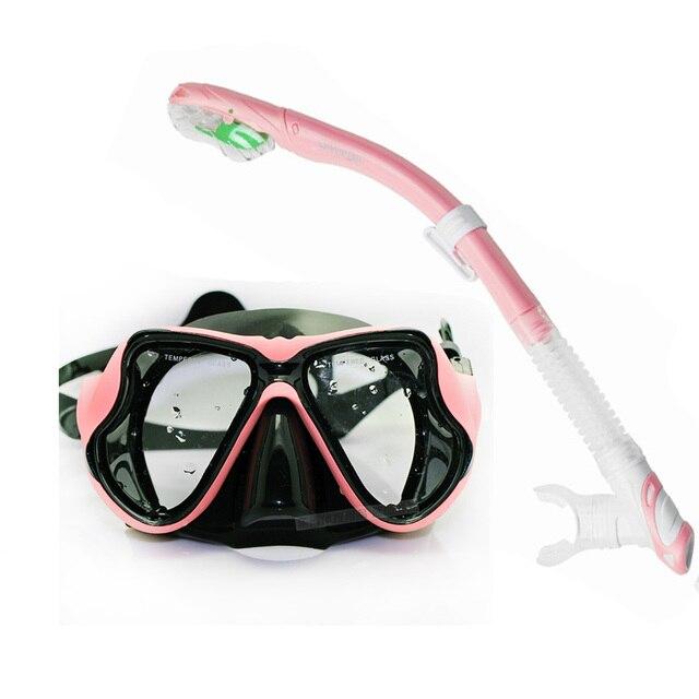 d2d40575b Do aqua quente esporte engrenagem equipamento de mergulho e natação snorkel  adulto conjunto máscara de mergulho