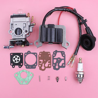 Carburetor Ignition Coil For 1E40F 5 40 5 43cc 2 Stroke Brush Cutter Trimmer Spare Replace Part