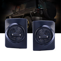 Do Promotion! 12V 18W Simple installation New 2 Pcs LED Rear Tail Light Brake Lights for Jeep Wrangler JK JKU 88