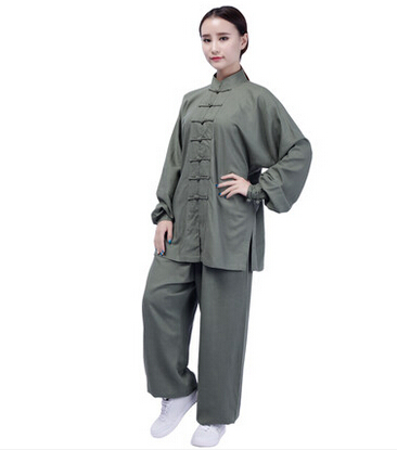 Tai Chi Clothing Cotton Long Sleeved Clothes Women's Taijiquan Exercise Wushu Performance Suits jiajia cotton tai ji suit taijiquan exercise clothing female and male martial arts clothing wushu clothing