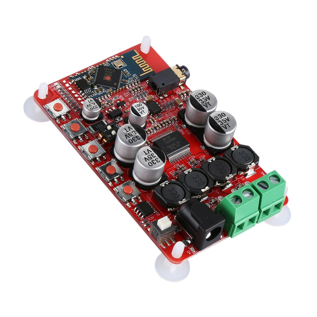TDA7492P Power Amplifier Board Audio Receiving Digital Power Amplifier Board Csr4.0 Hf01 Durable Red Color