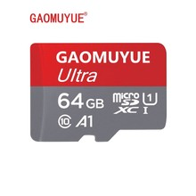 GAOMUYUE4 Micro SD Card 32GB Class10 16GB / 64GB/128G TF Kartu Di Kartu Memori & Flash MicroSD Class10 XC untuk Smartphone D1(China)